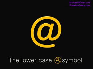 lowerCaseA